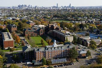 The Tufts Medford/Somerville campus
